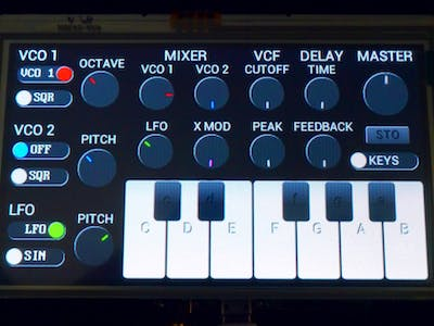 Goldilocks Analogue Synthesizer