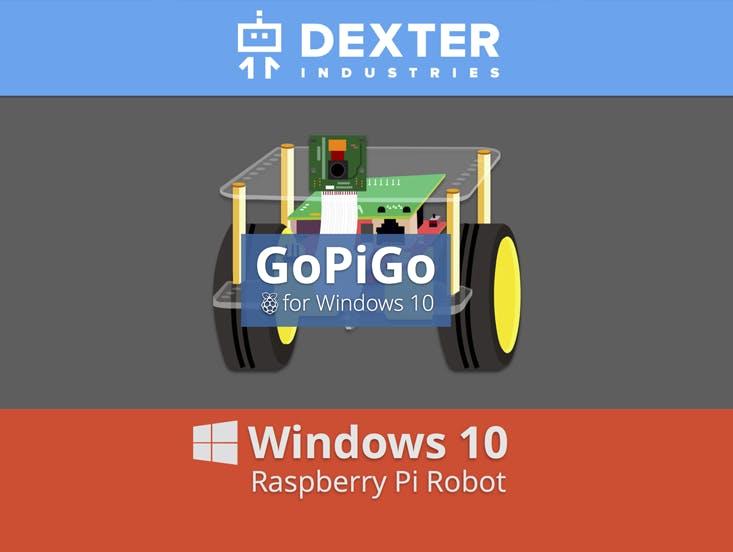 Windows 10 on the GoPiGo