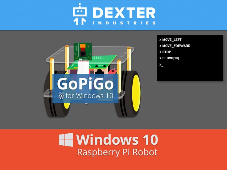GoPiGo Windows 10 IoT Core Headless Application