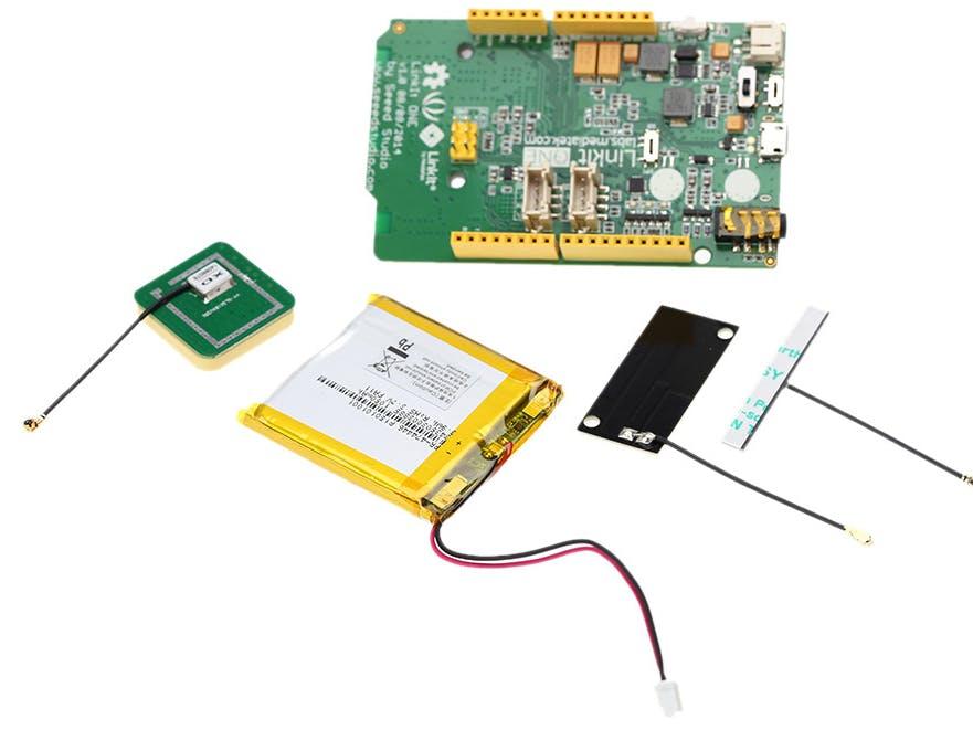 Linkit One Wifi - Battery Test