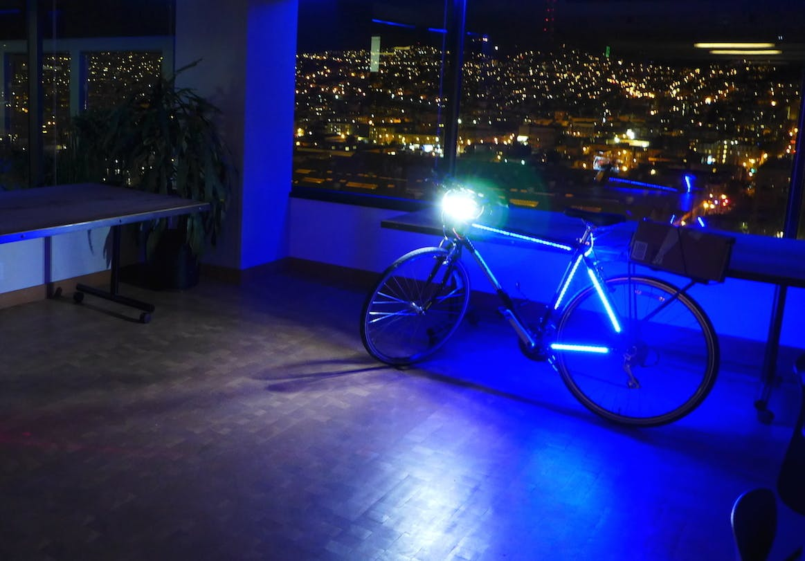 glowHacker LED Bike Lights