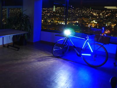 glowHacker LED Bike Lights