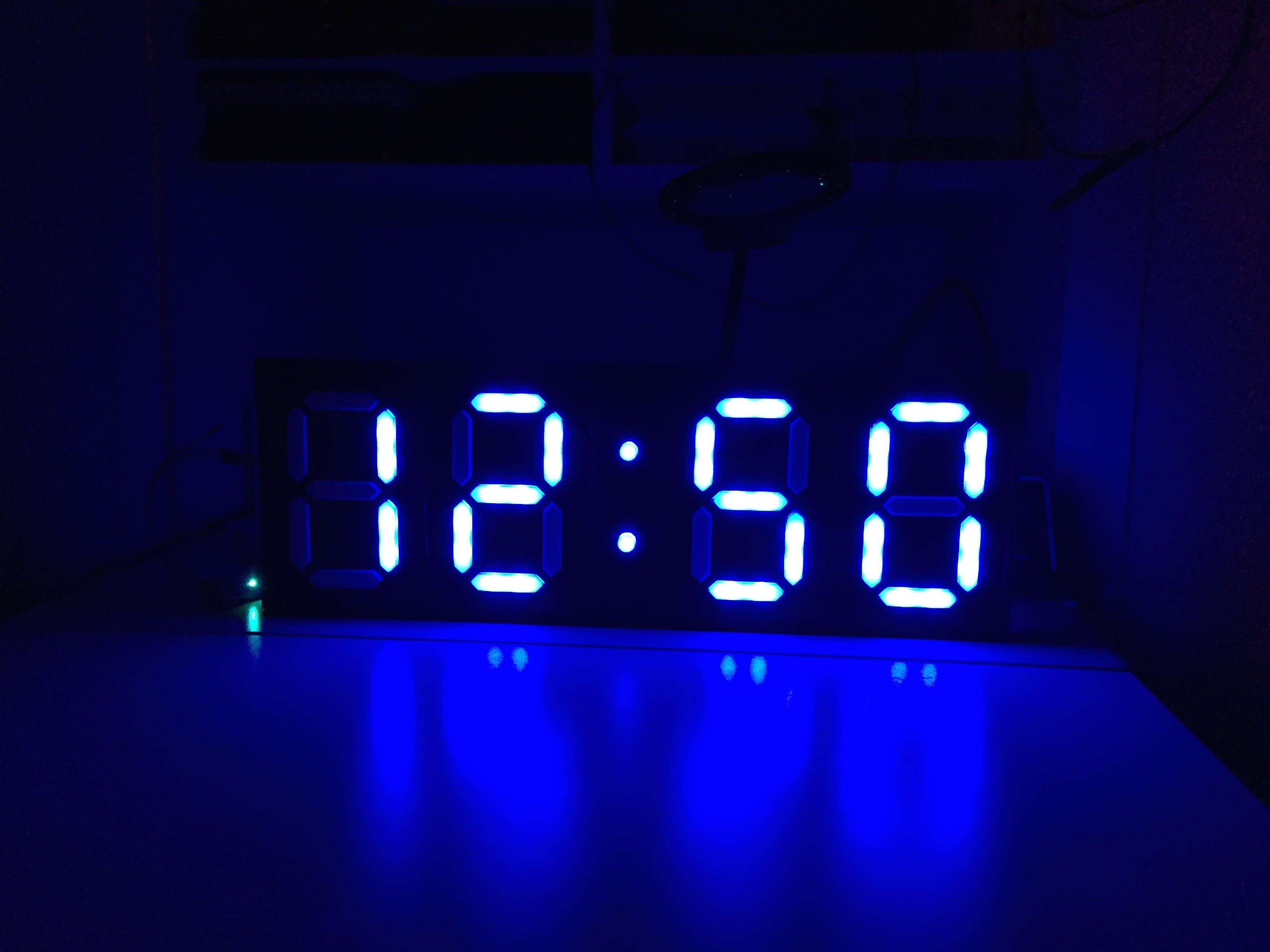 7-Segment Clock