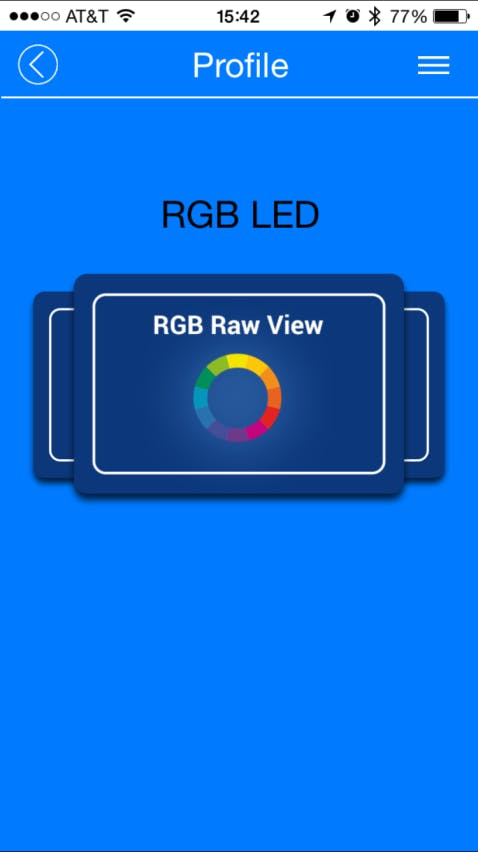 Project #003: BLE Custom Profile - CapSense and RGB LED