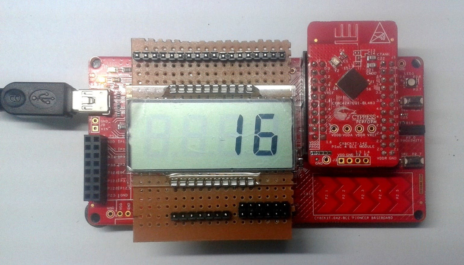 Project #023: Segment LCD with BLE
