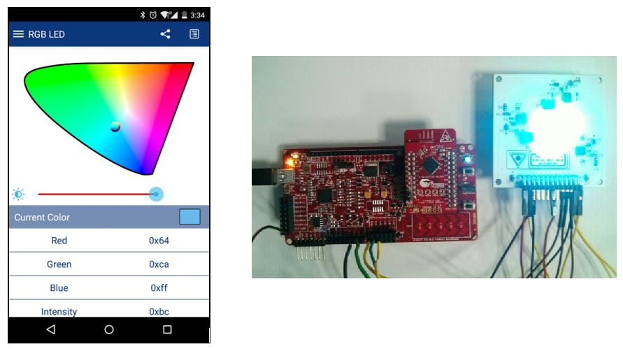 Project #034: RGB LED Control Over Bluetooth Low Energy