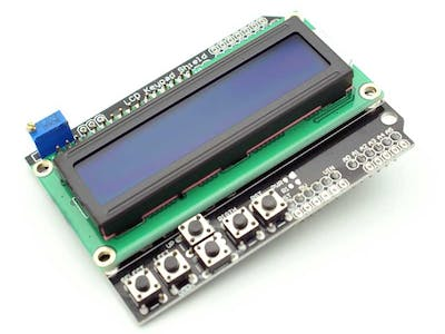 OSEPP  LCD and keypad shield