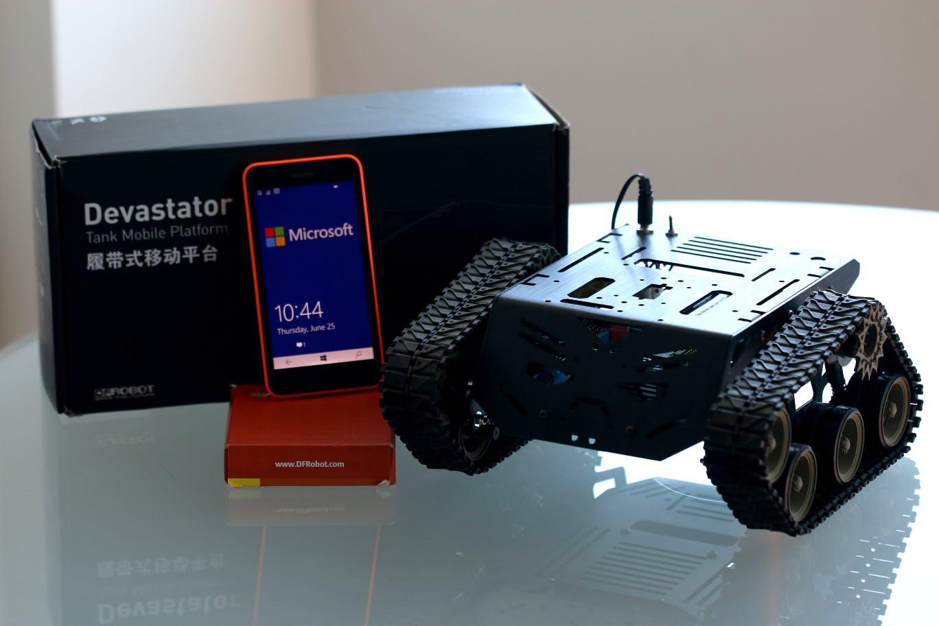 Windows + DFRobot Kit