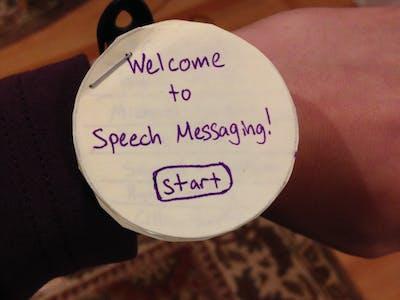 DES 01: Speech Messaging