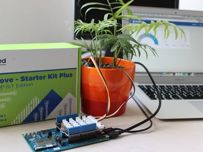 Logging sensor data using Intel Edison and Python