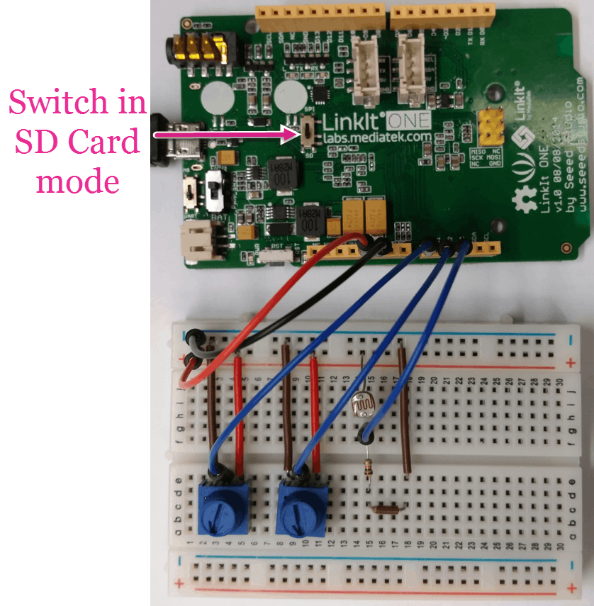 SD Card Integration on LinkIt ONE