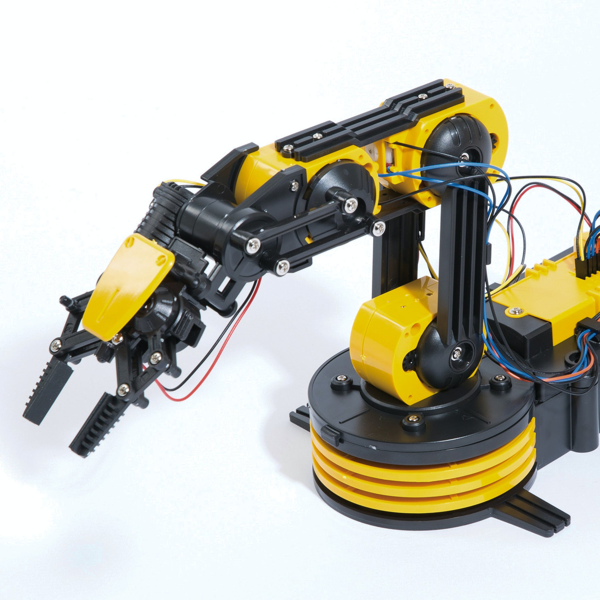 Internet Controlled Move and Pick using Robotic Arm