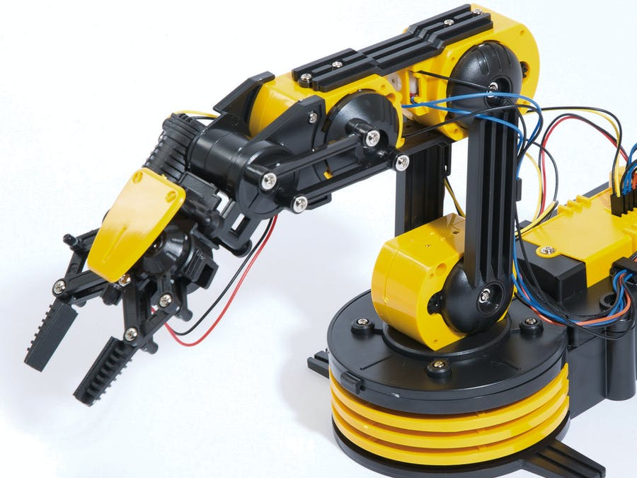 Internet Controlled Move and Pick using Robotic Arm - Hackster io