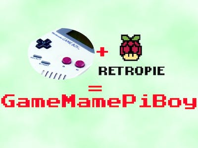 GameMamePiBoy