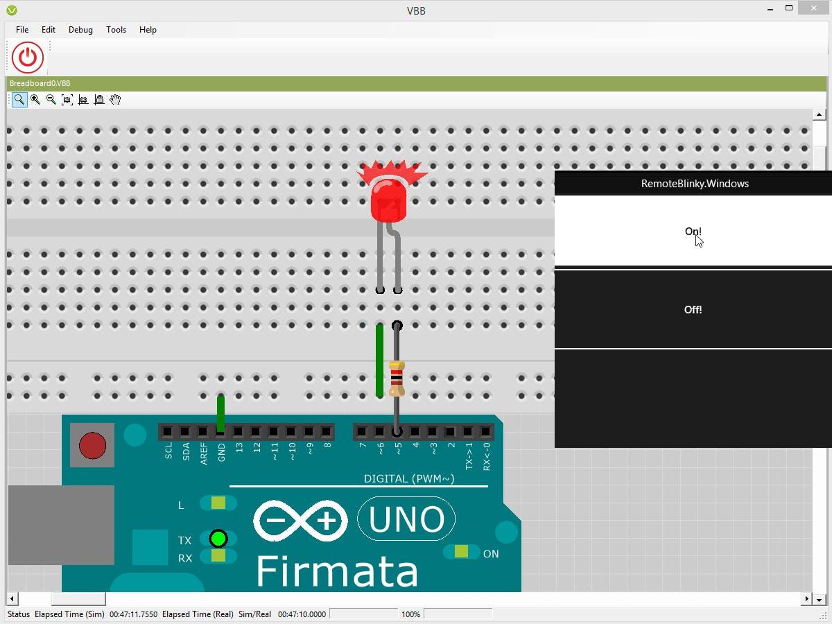 Windows Remote Virtual Arduino