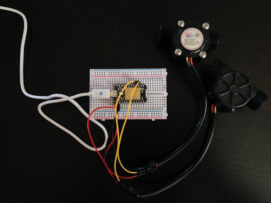 IoT Water Flow Meter - Hackster io
