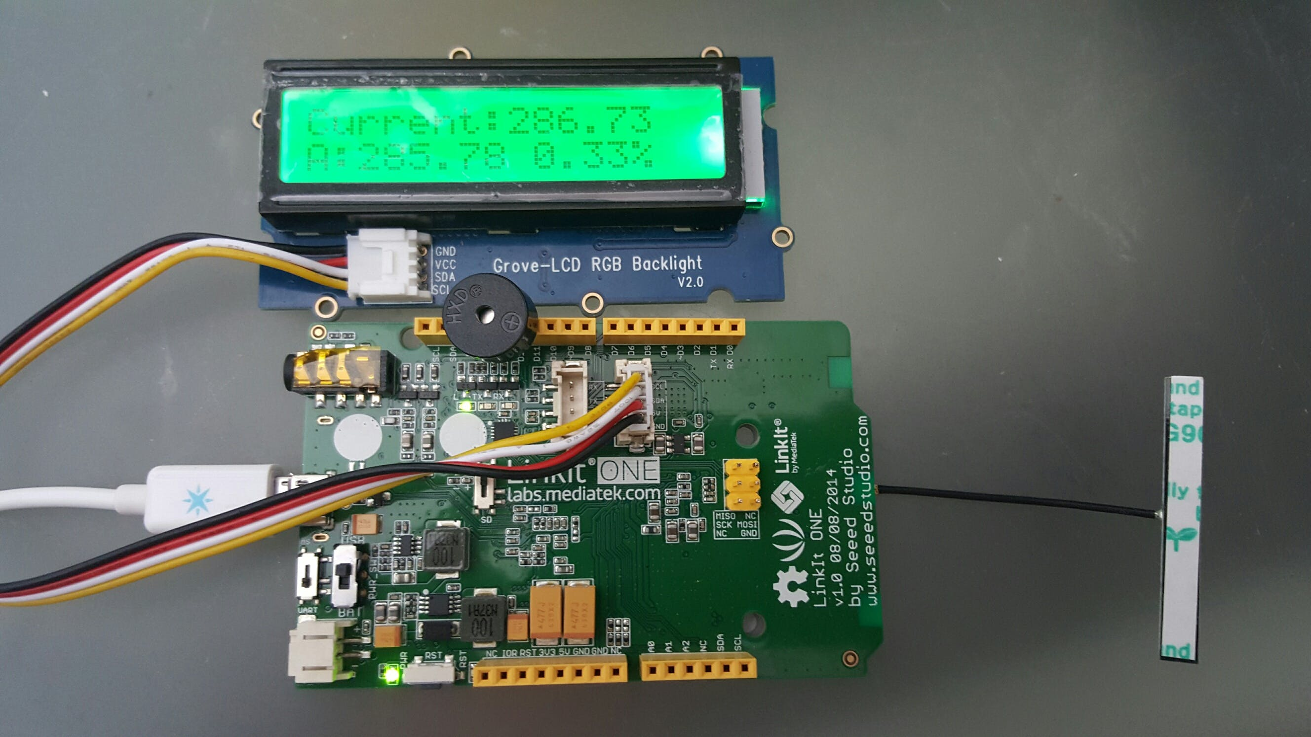 BitCoin Sensor - LinkIt One