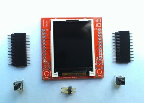 Color LCD Booster Pack, add some color to your LaunchPad