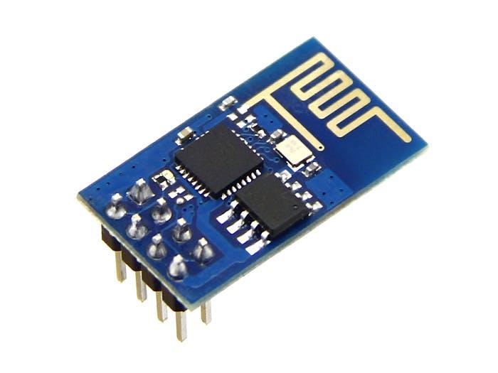 ESP8266-01 Web Server
