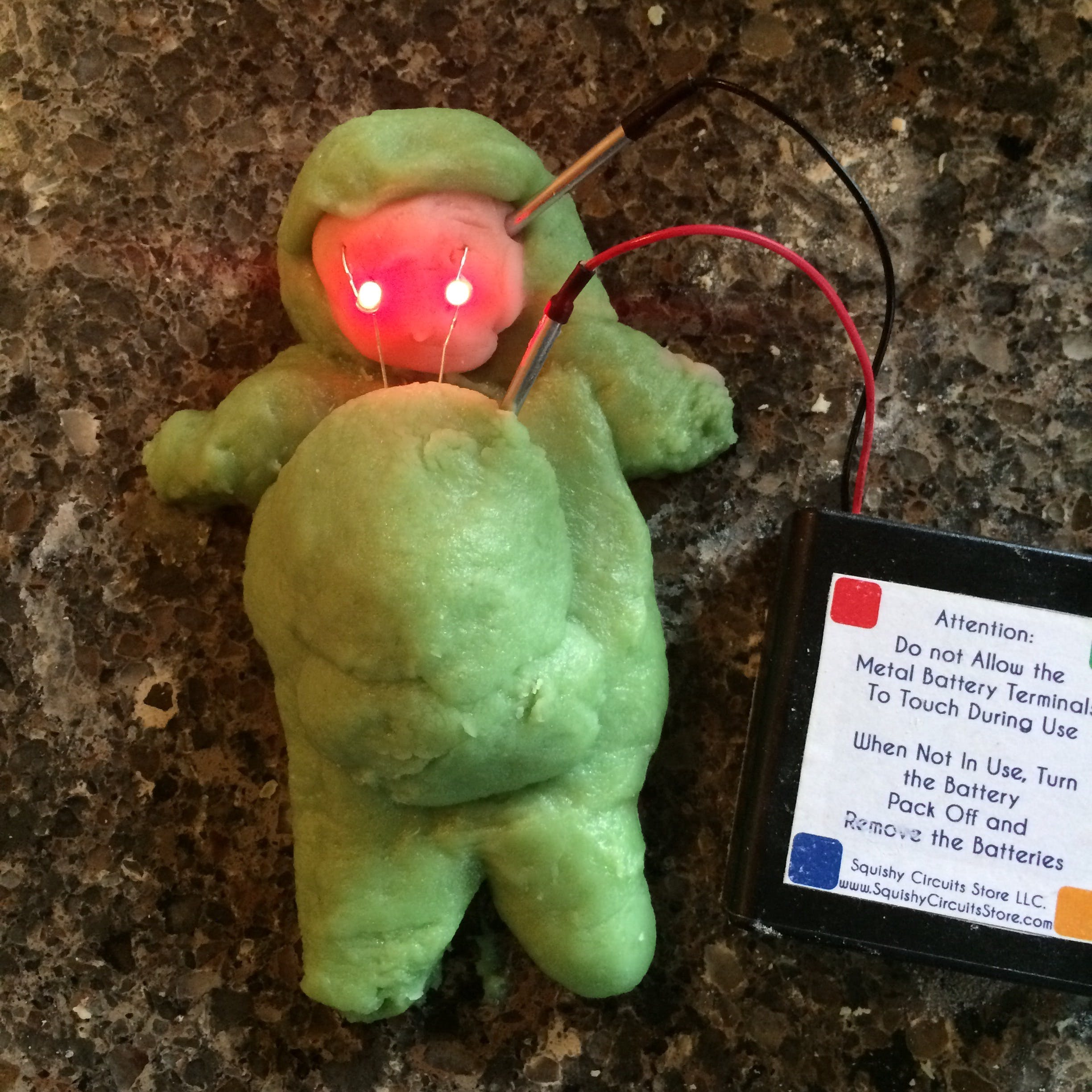 Create a Frankenstein out of conductive dough!