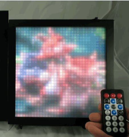 SmartMatrix Remote Controlled LED Art Display