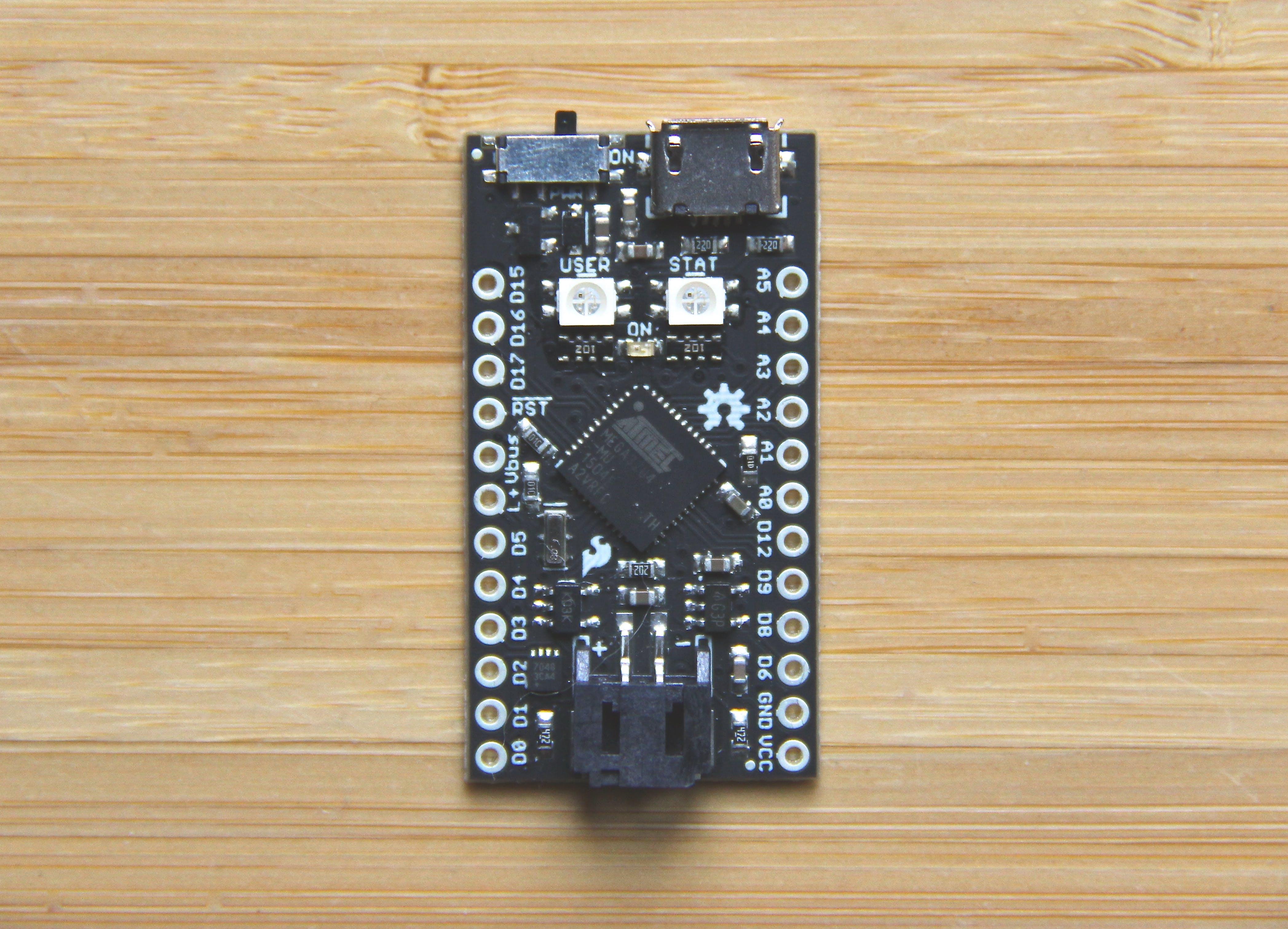 Qduino Mini Quickstart Guide