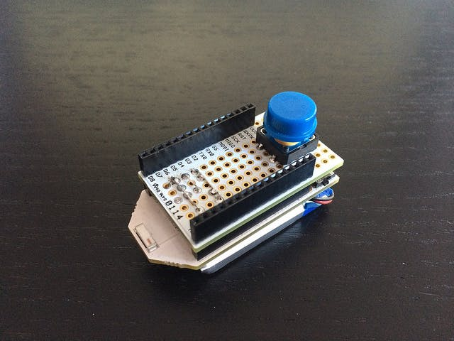 Pinoccio Button Press