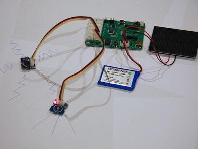 A touch sensor that initiates vibration