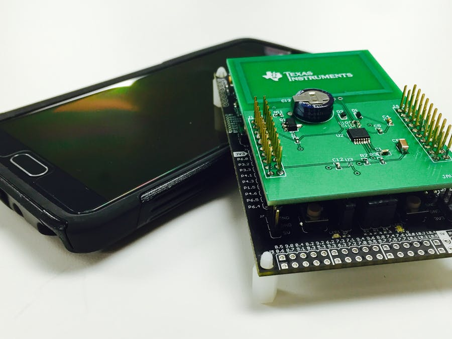 NFC Energy Harvesting Booster Pack