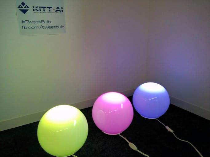 TweetBulb: Tweet to Smart Light Bulbs and Watch on YouTube!
