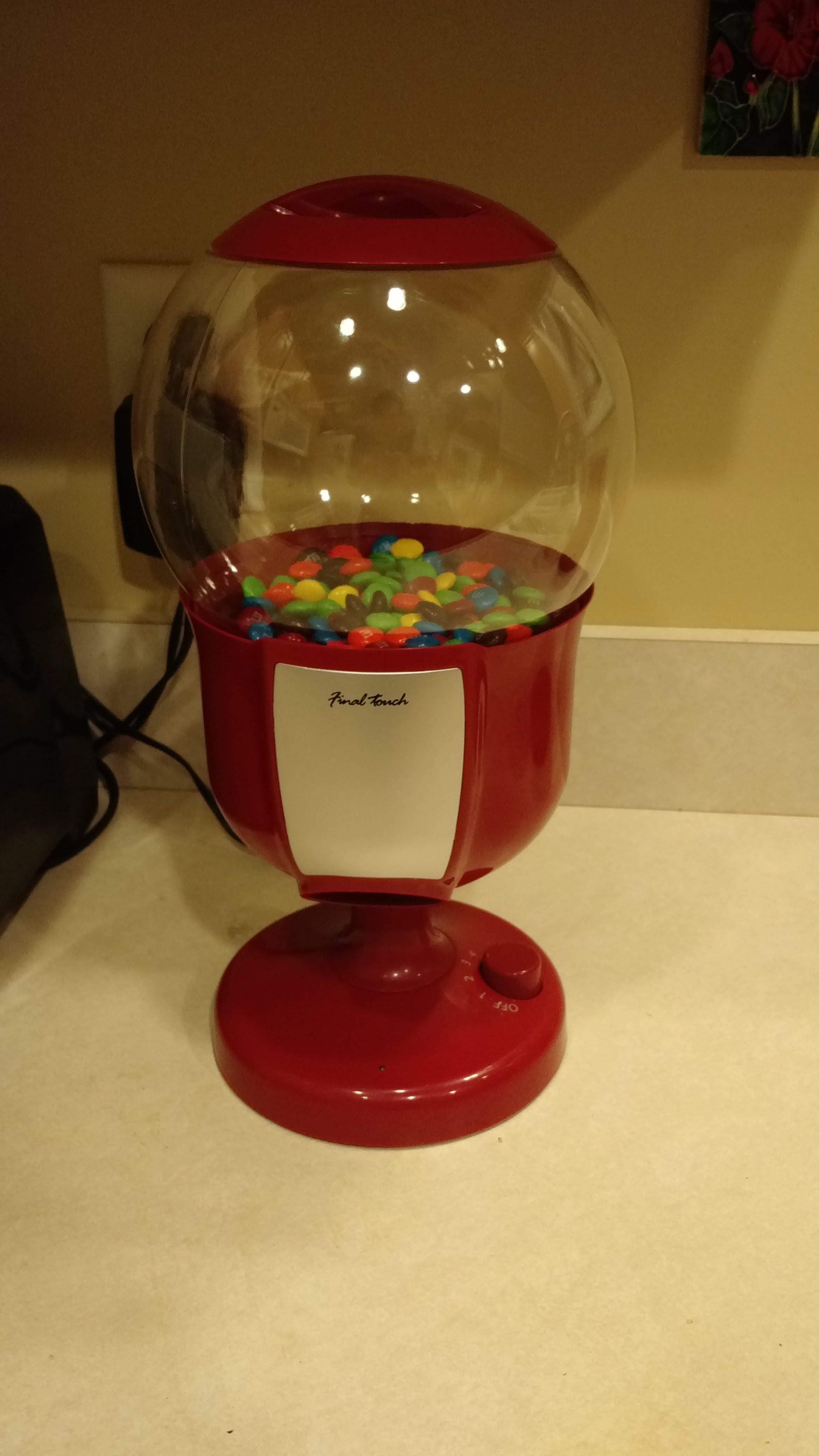 Physical Web Candy Machine