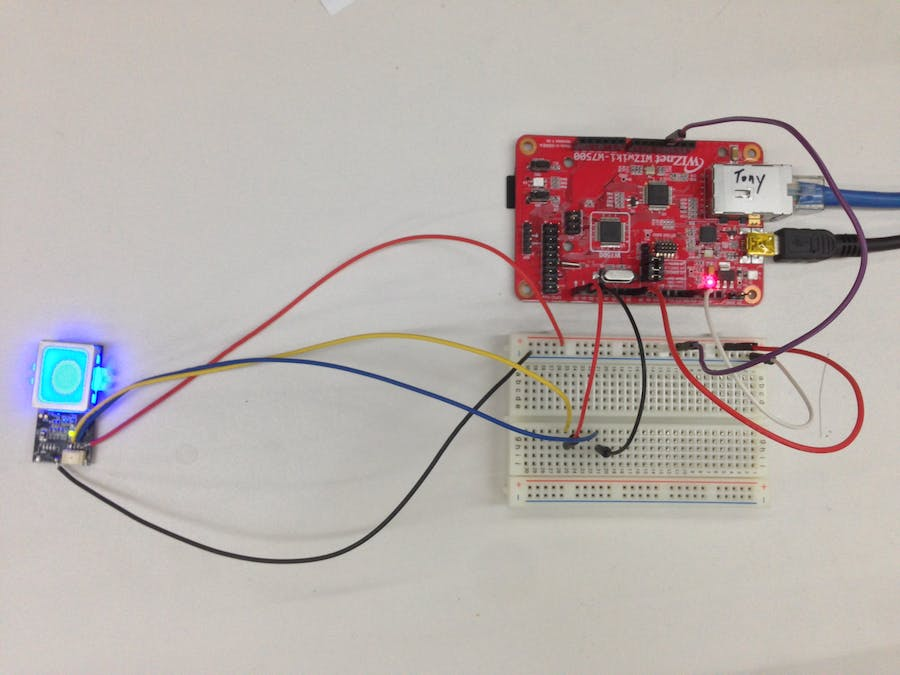 Time clock system using fingerprint sensor and NTP