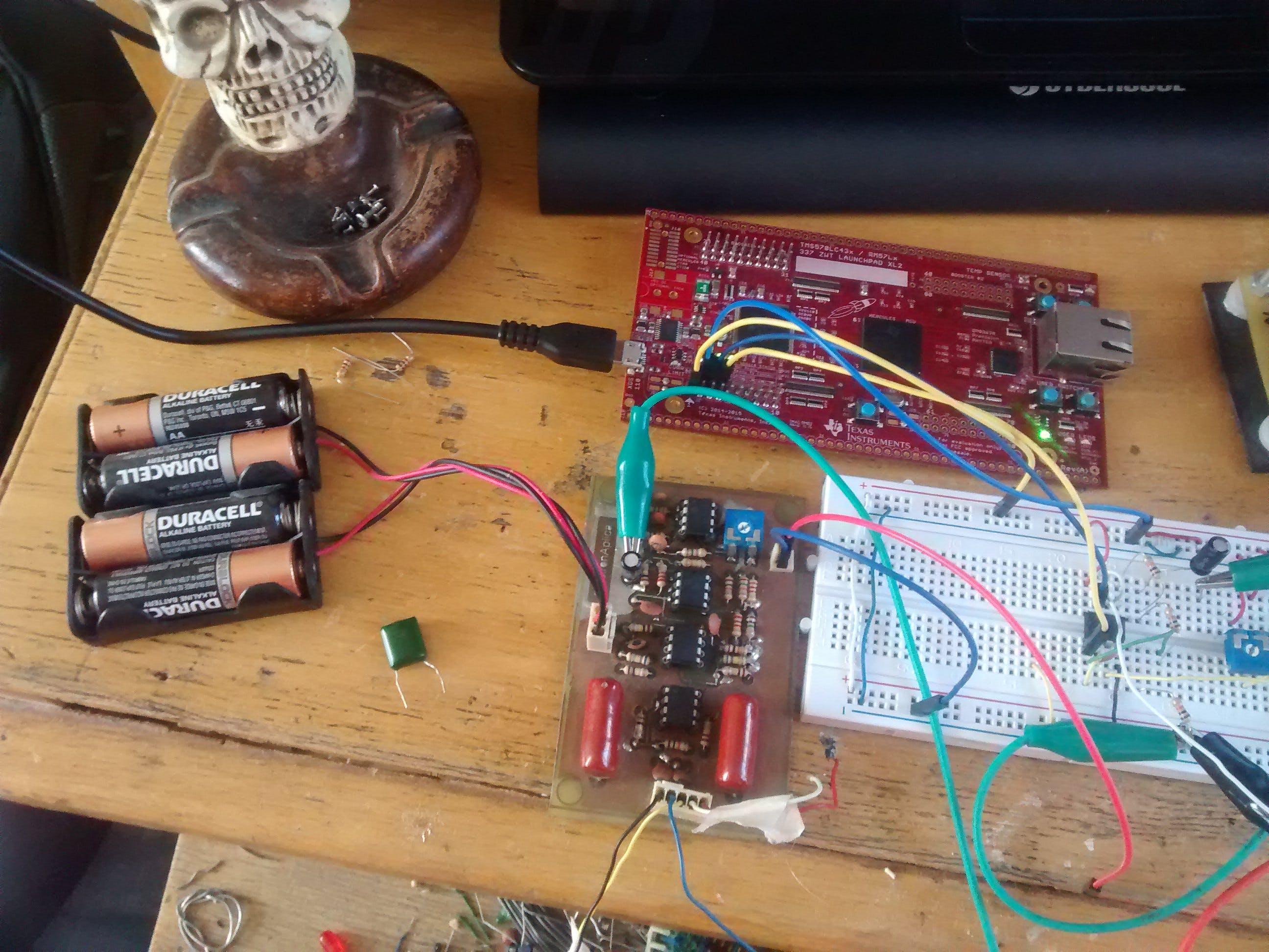 TI Hercules RM57 Cardiac Monitor