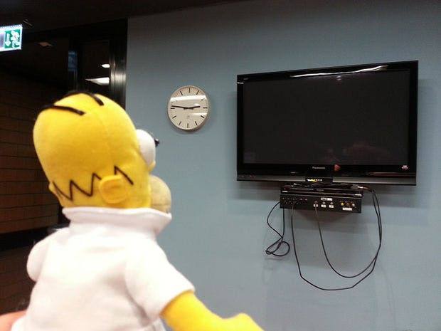Smart Homer Web-enabled TV remote