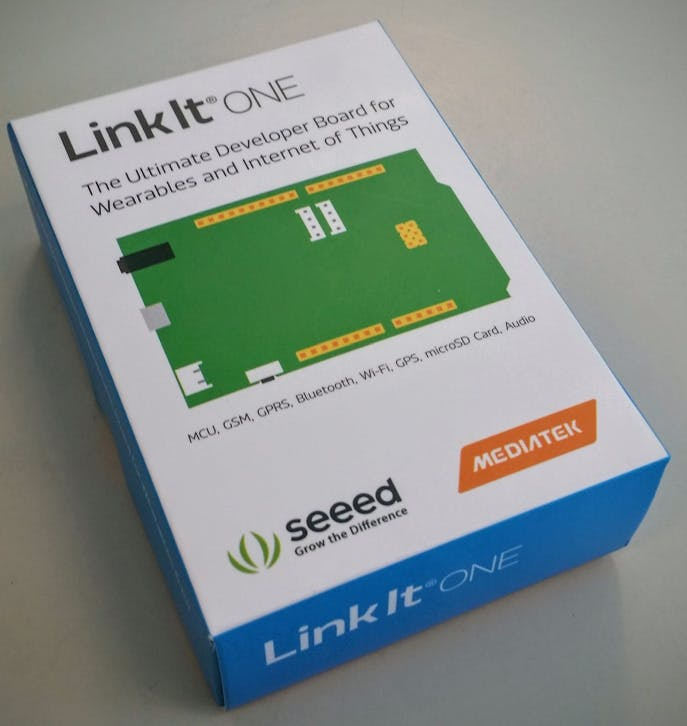 Unboxing the LinkIt ONE
