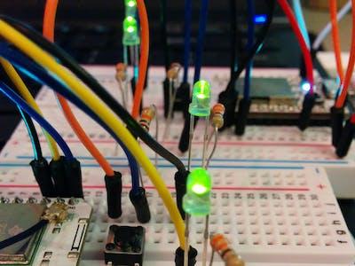 Quantumly Entangled LEDs