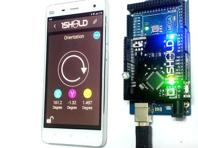 Control electronics by sliding your phone