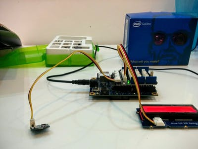 Room Temperature Detection with Galileo Gen 1 and Grove Kit.