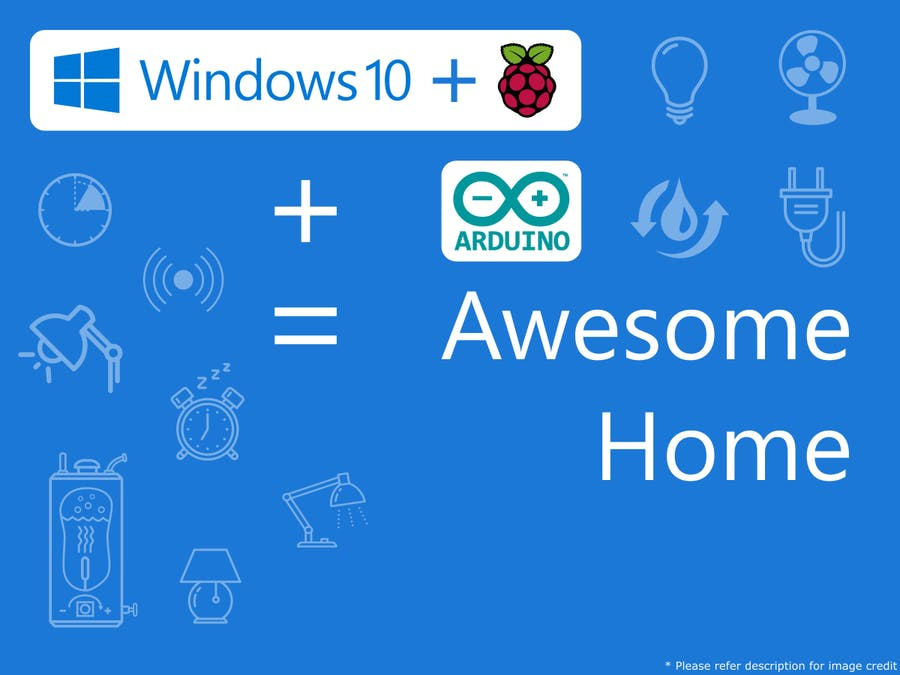 Home Automation Using Raspberry Pi 2 And Windows 10 IoT - Arduino