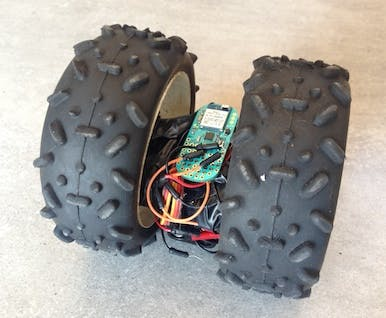 BeanBot - a 2 wheel servo based robot