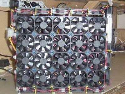 Automatic Cooled Serverrack