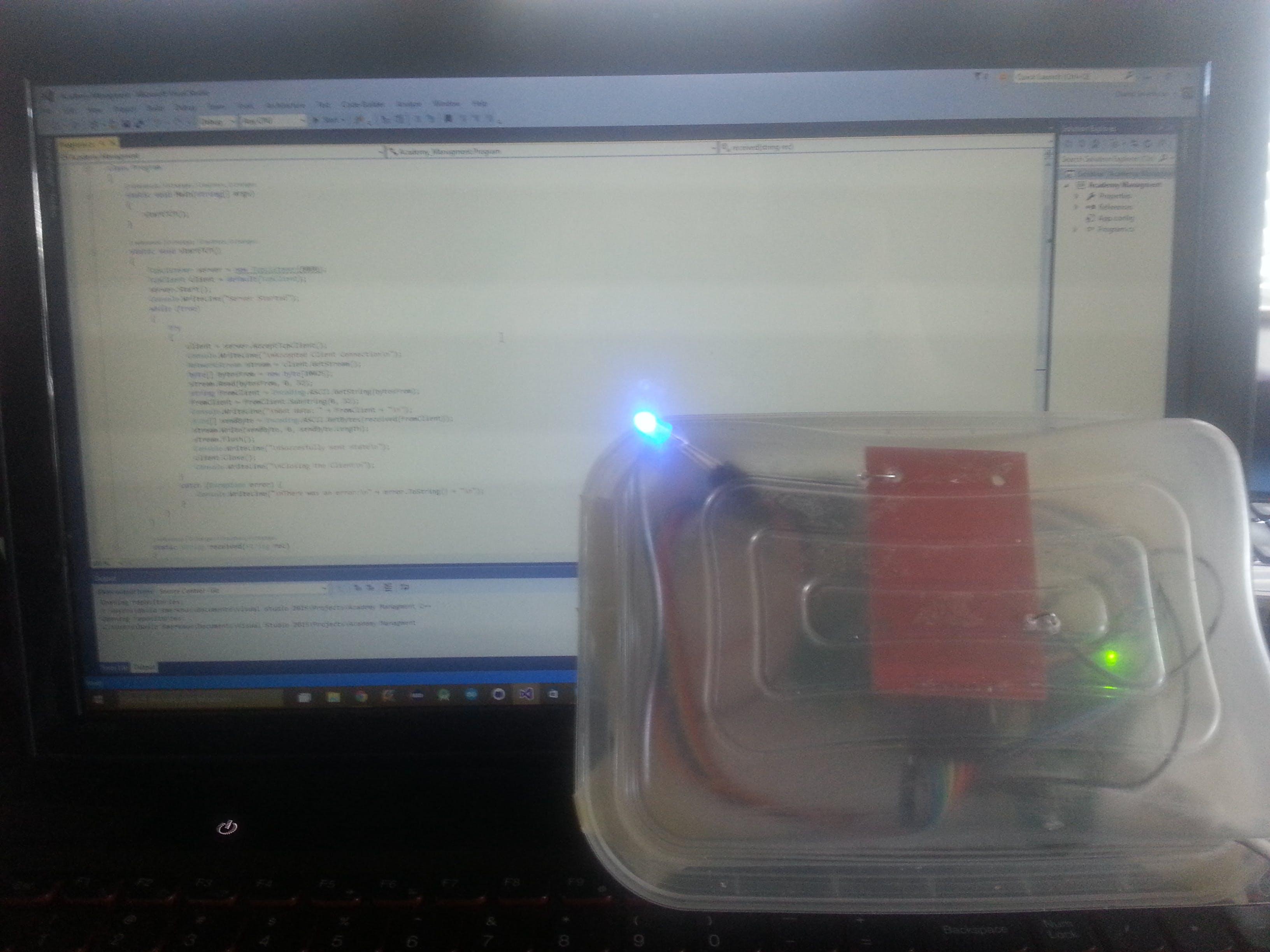 Linkit One Wireless RFID reader