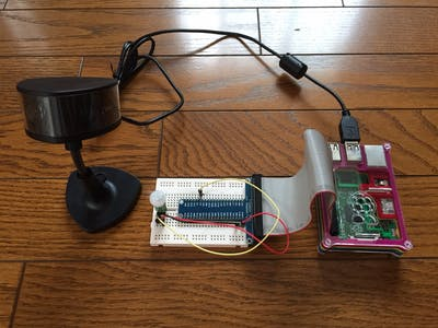 Security camera to make in Rpi2 and WebCam.