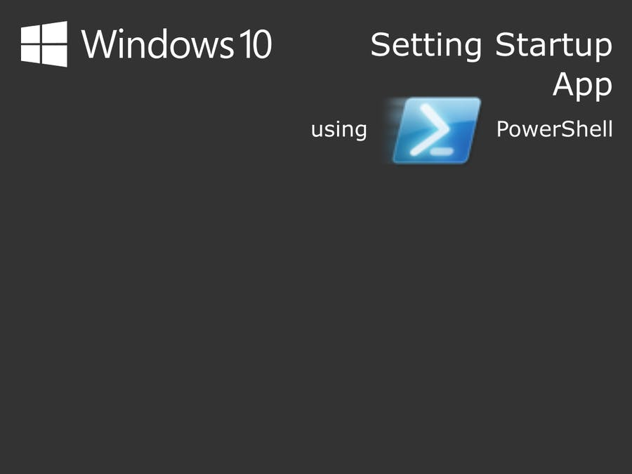 Windows 10 IoT Core: Setting Startup App
