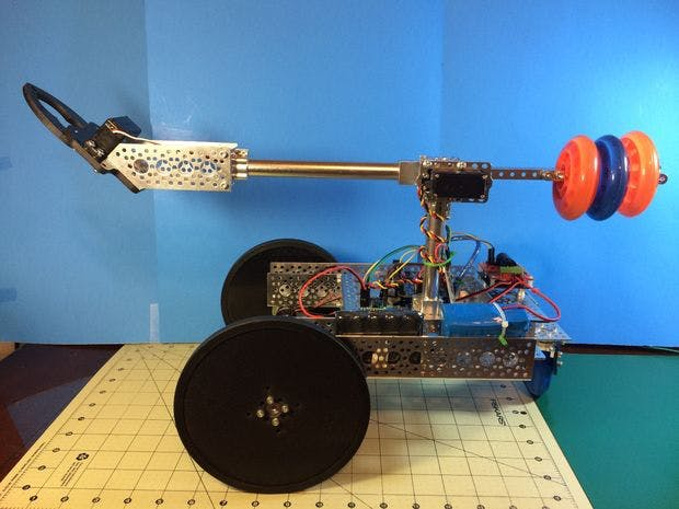 Boom and Gripper bot