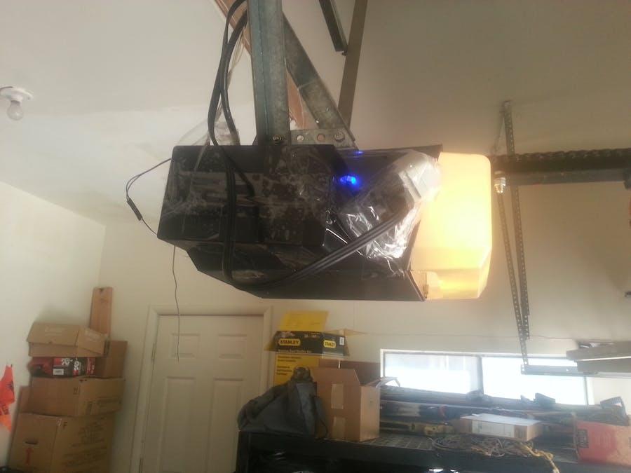IoT arduino ESP Garage Door opener (UD)