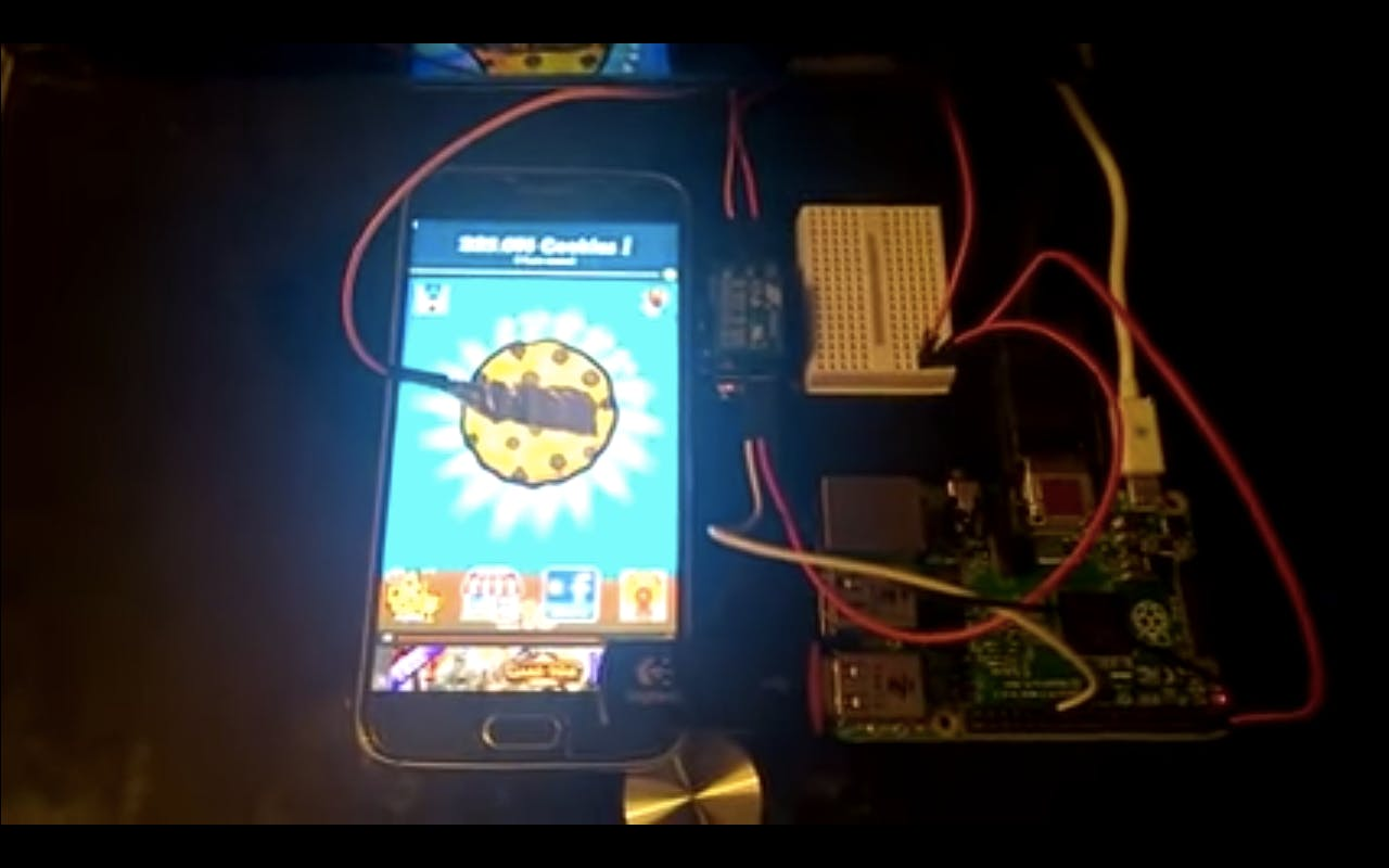 Capactive Touch Screen Clicker on RPi2 with Windows IoT Core