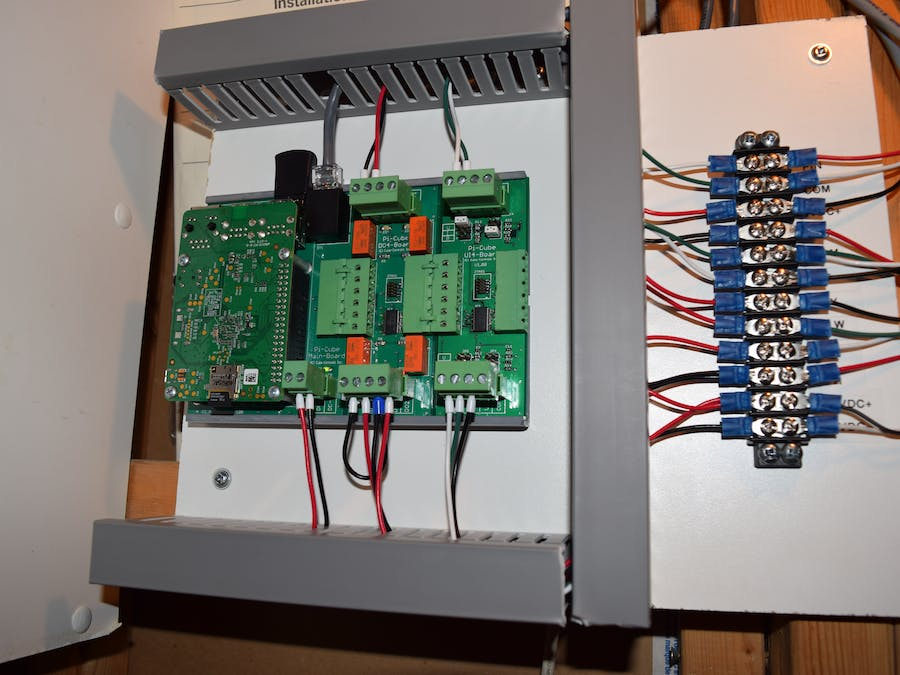 Furnace Controller With Pi-Cubes/Raspberry Pi