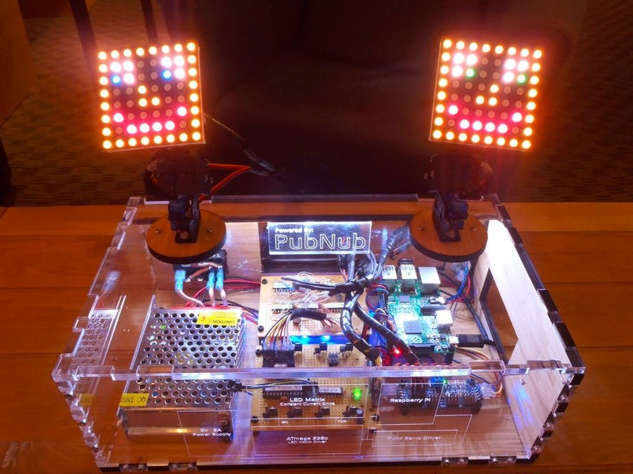Motion Controlled Servos using Leap Motion