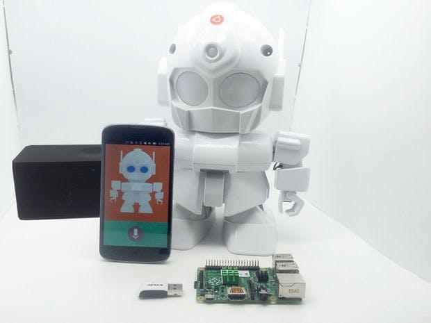 MrRobot - Ubuntu Mobile app enabled Robotics